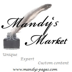 Mandy's Market website