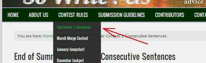 how to find this contest's page link