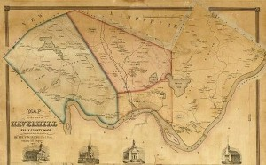 a really cool map of Haverhill