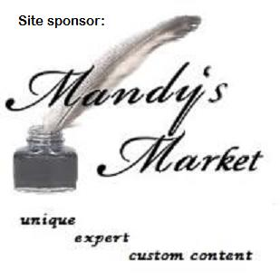 Mandy's Pages website