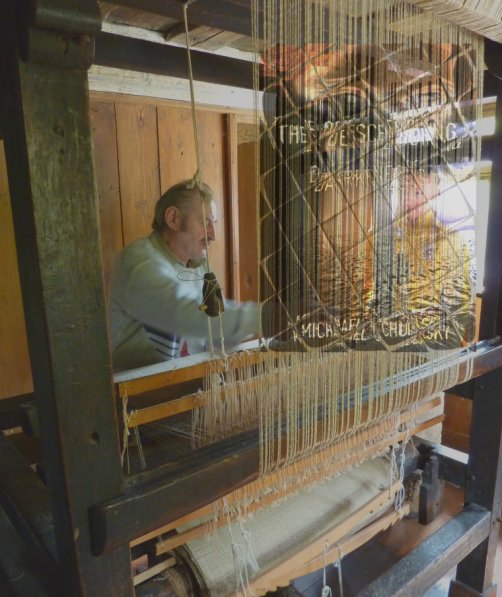 weaving a story
